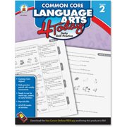 Carson-Dellosa Publishing Common Core 4 Today Workbook, Language Arts, Grade 2, 96 pages