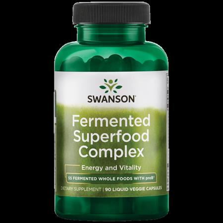 Swanson Fermented Superfood Complex 90 Liq Vegcap (Ultra Greens Powder)