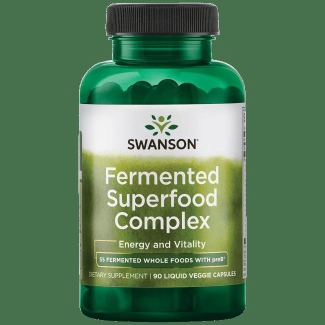 Swanson Fermented Superfood Complex 90 Liq Vegcap