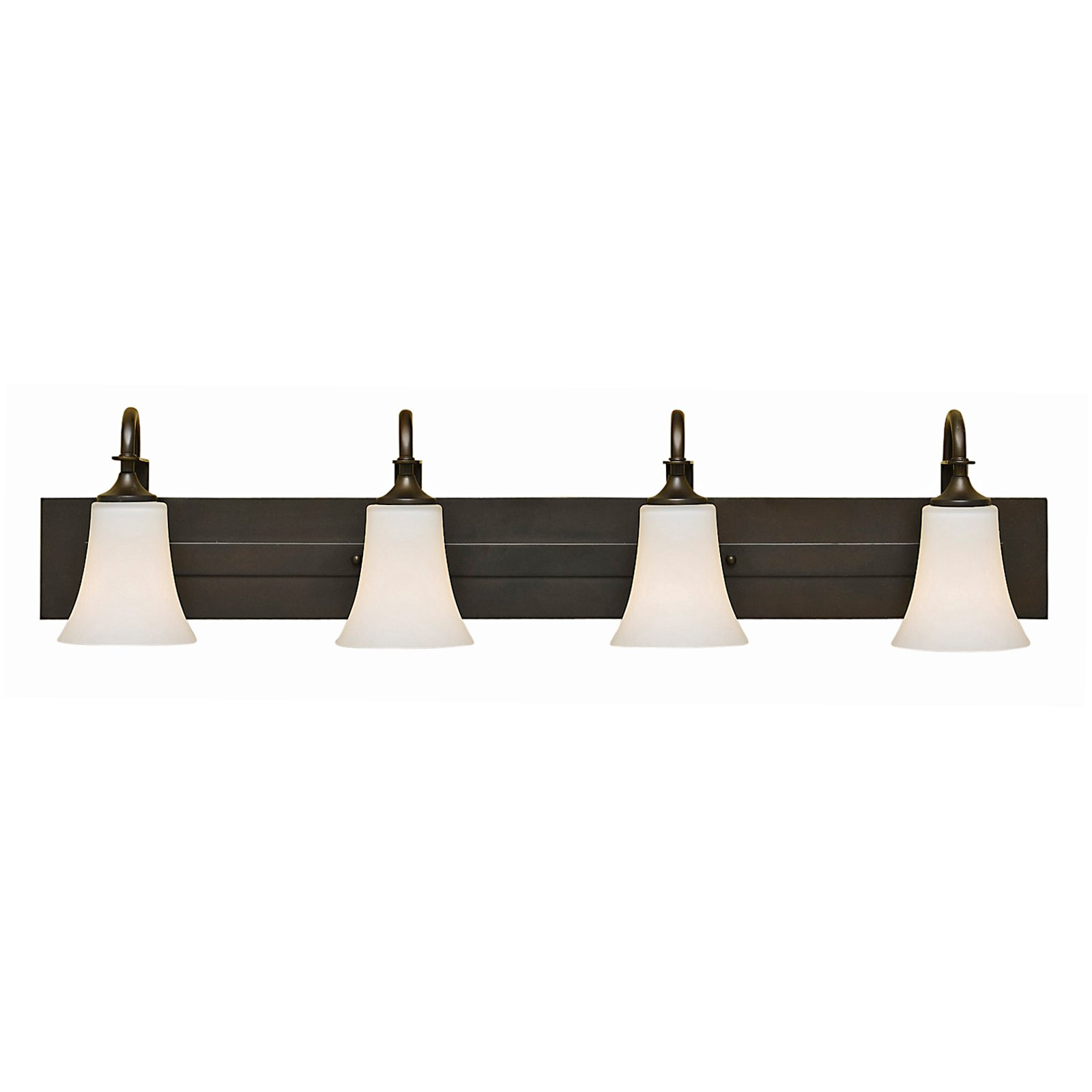 Feiss Barrington Bathroom Wall Light 37W in. Oil Rubbed Bronze by Murray Feiss