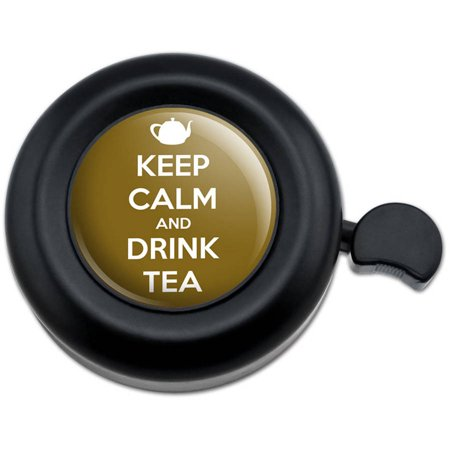 Keep Calm And Drink Tea Teapot Bicycle Handlebar Bike Bell