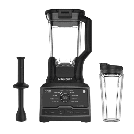 Ninja Chef 1500 Watt Blender with Auto-IQ and Smoothie Cup, CT810