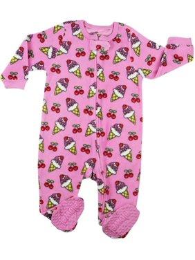 56830f78c Little Girls One-piece Pajamas - Walmart.com
