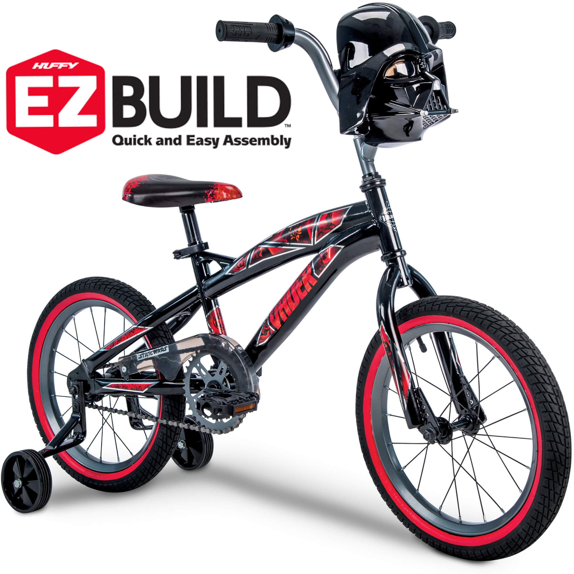 "Star Wars Darth Vader 16"" Boys' EZ Build Bike, by Huffy"