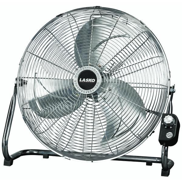 "Lasko 20"" High Velocity Floor Fan Image 1 of 2"