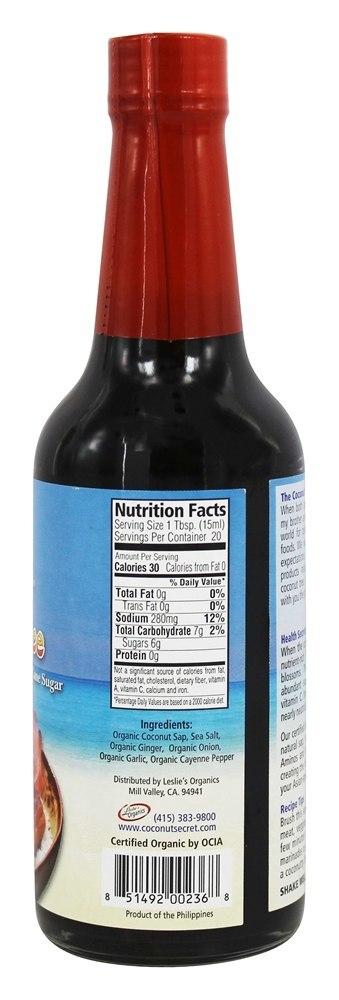coconut aminos norge