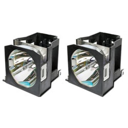 Replacement for PANASONIC PT-DW7700K DUAL PACK- LAMP and HOUSING - Park Lamp Housing