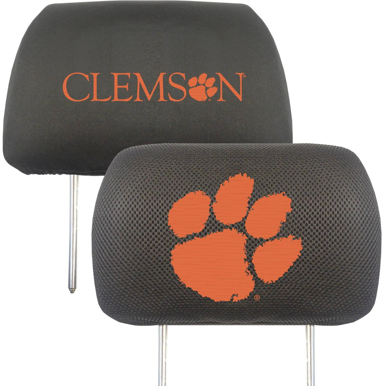 Clemson University Headrest Covers