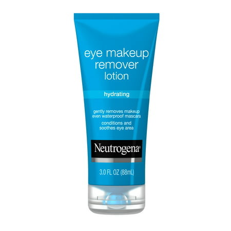 Neutrogena Hydrating and Gentle Eye Makeup Remover Lotion, 3 oz
