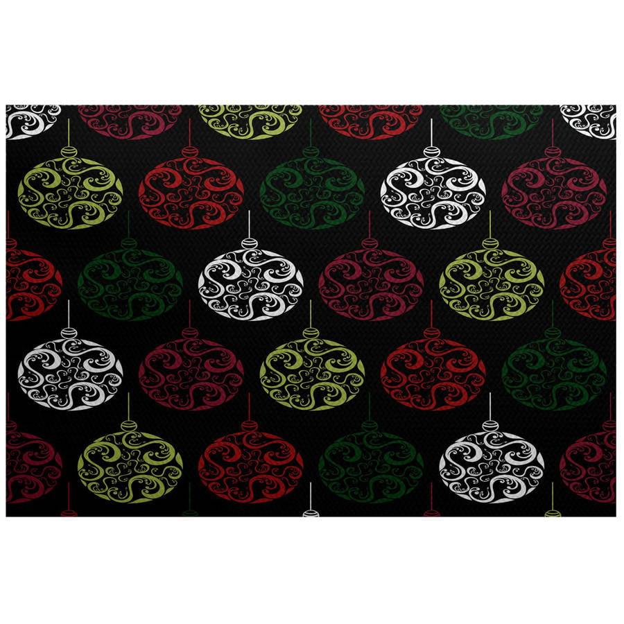 Simply daisy 3' x 5' painterly bulbs geometric print indoor rug