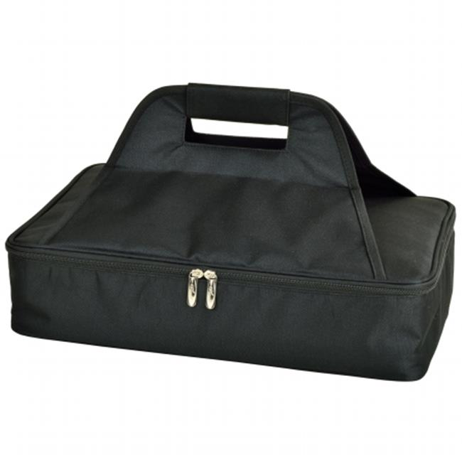 Picnic At Ascot 530 Blk Insulated Casserole Carrier Black
