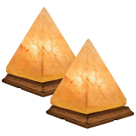 Himalayan Salt Lamp Pyramid Shape Large