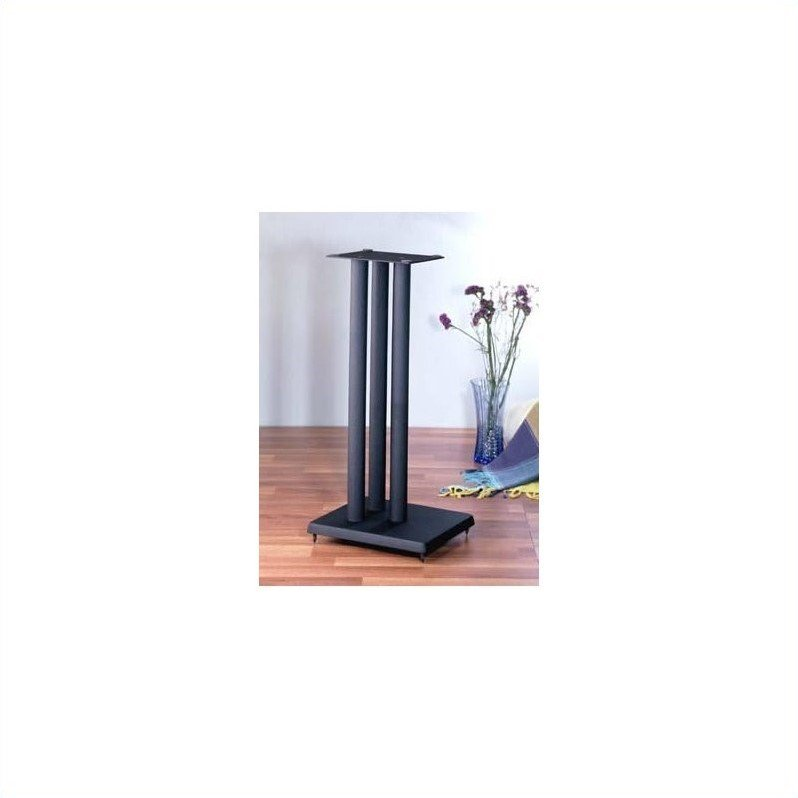 VTI RF Series Speaker Stand in Black (Set of 2) by VTI