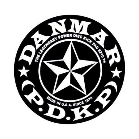 Druzy Star (Danmar 210STR Bass Drum Impact Click Pad with Star)