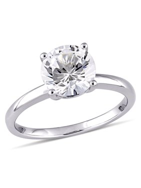 bb7831191e3 Product Image 2-3 8 Carat T.W. Created White Sapphire 10kt White Gold  Solitaire Engagement Ring