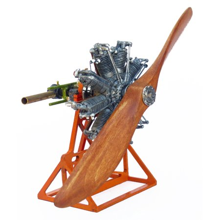 Model Airways MA1031 Sopwith Camel Clerget Rotary Engine 1:16 Scale - Metal
