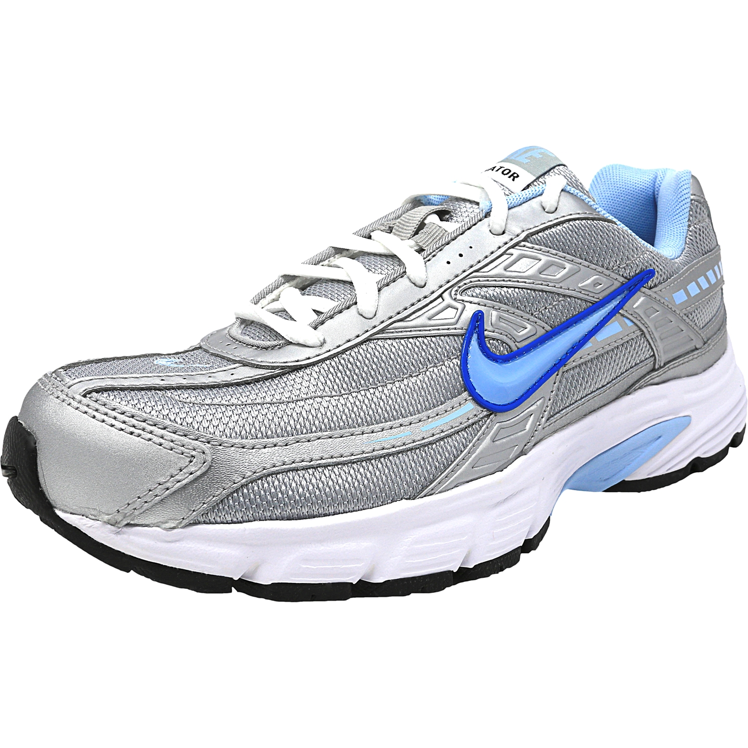 Nike Women's Initiator Metallic Silver / Ice Blue-White A...