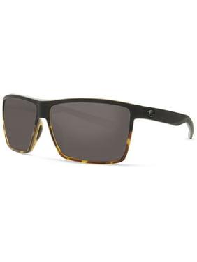 1d1a38dd15c5c Product Image Costa Del Mar Rincon Polarized Plastic (580) Grey X-Large Fit  Sunglasses