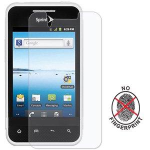 Premium Matte Anti Glare Screen Protector Scratch Guard for LG Optimus Quest L46C, LG Optimus Elite LS696, LG Optimus Elite