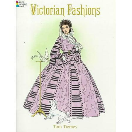 victorian fashions coloring book - Fashion Coloring Book