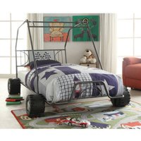 Xander Twin Bed, Gunmetal