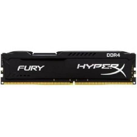Kingston HX432C18FB-4 4 GB 3200 MHz DDR4 CL18 DIMM Fury Memory Module, Black
