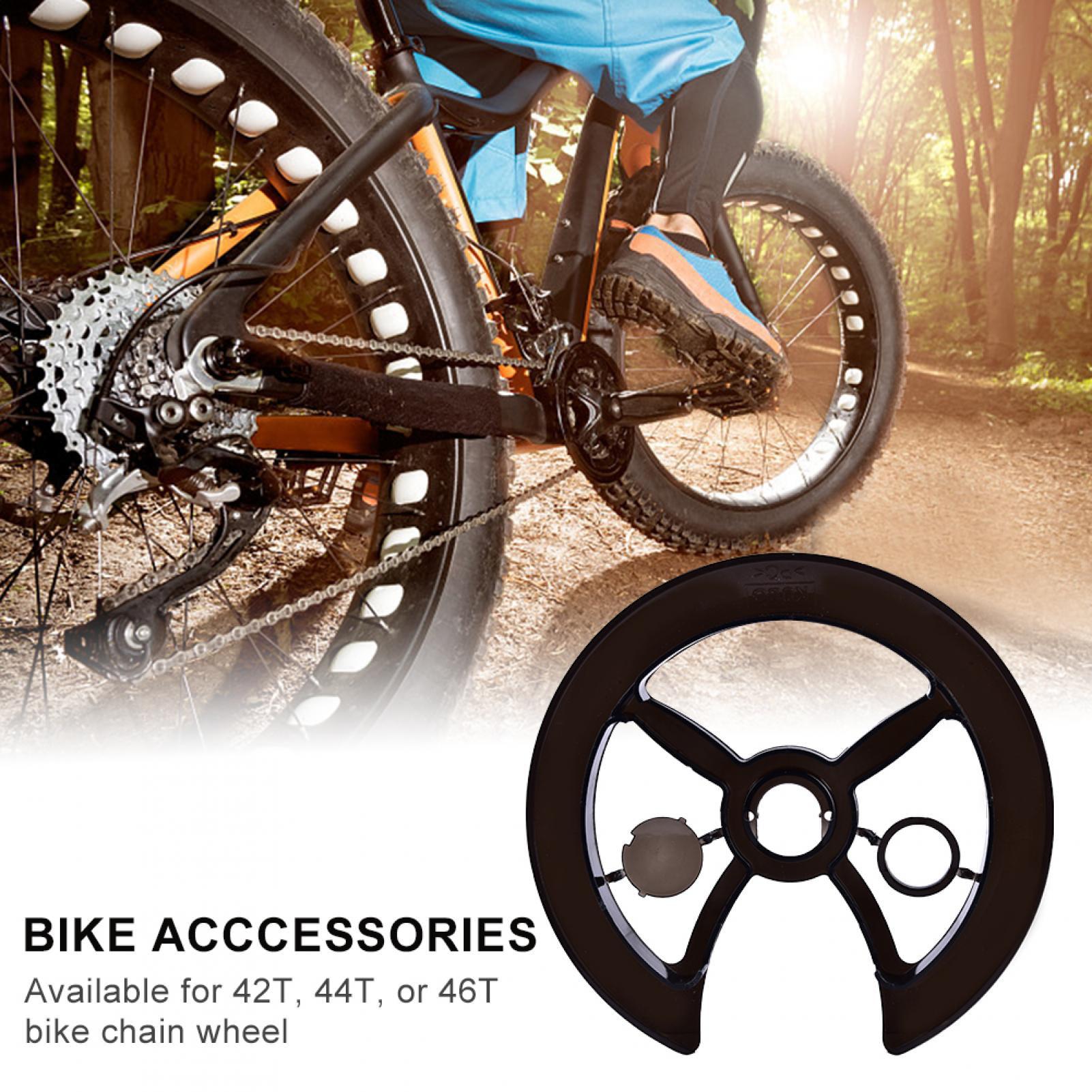 Bicycle Crankset Crank Guard Protector Bike Chain Wheel Ring Cover Accessori nh3