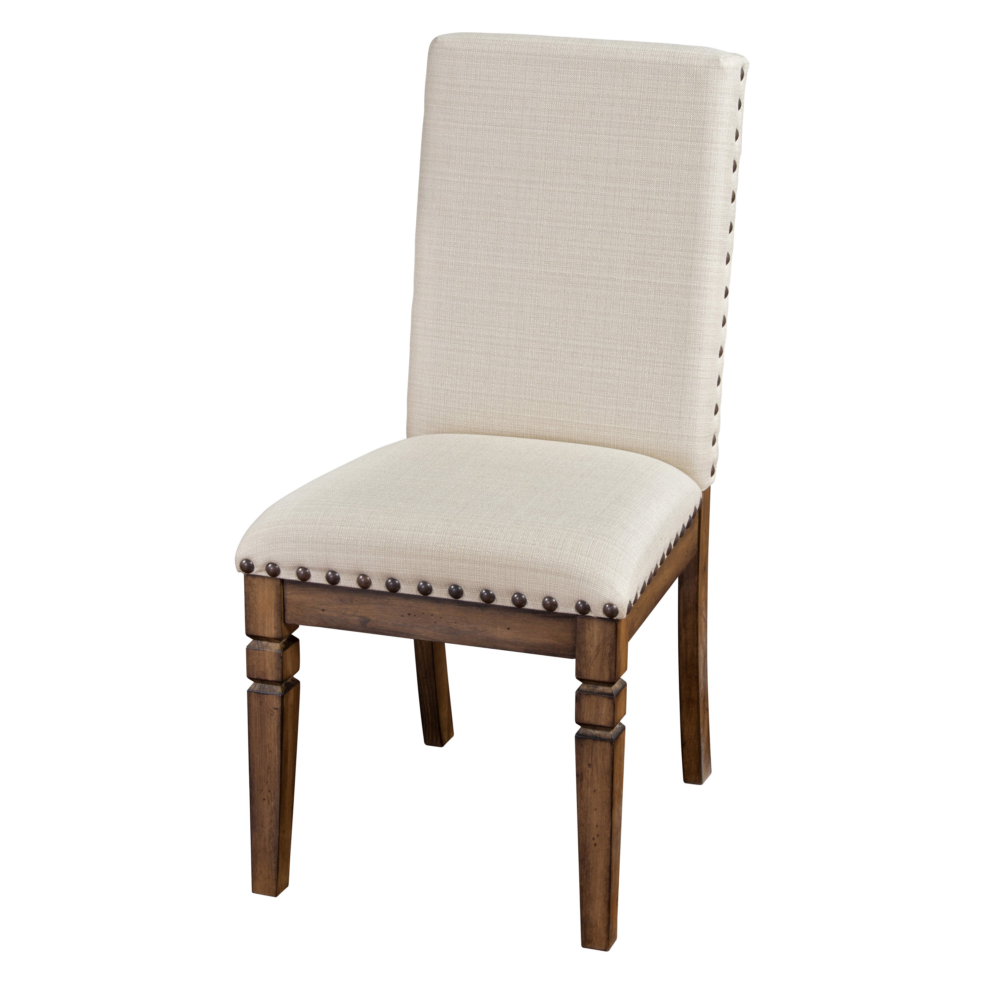 Sunny Designs Cornerstone Upholstered Parson Chair