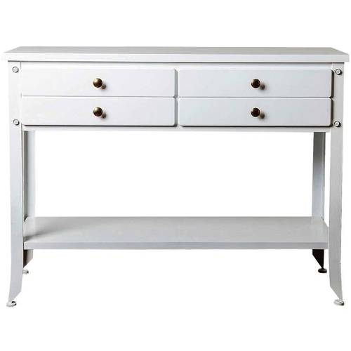 Devon & Claire Beacon Antiqued Console Sofa Table, Multiple Colors by