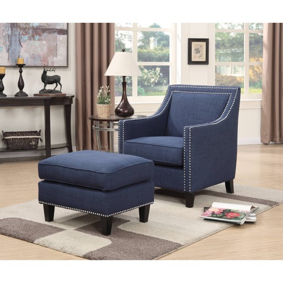 Picket House Emery Chair Heirloom Blue Walmart Com