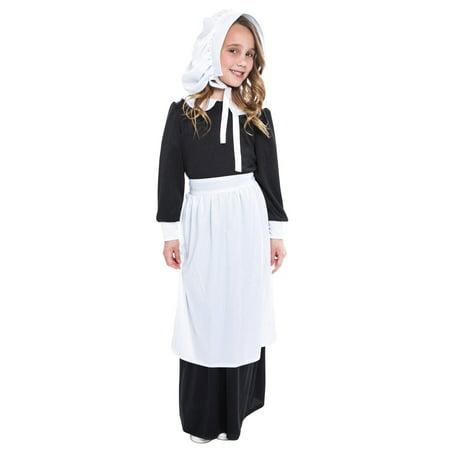 Pilgrim Girl  Child Costume