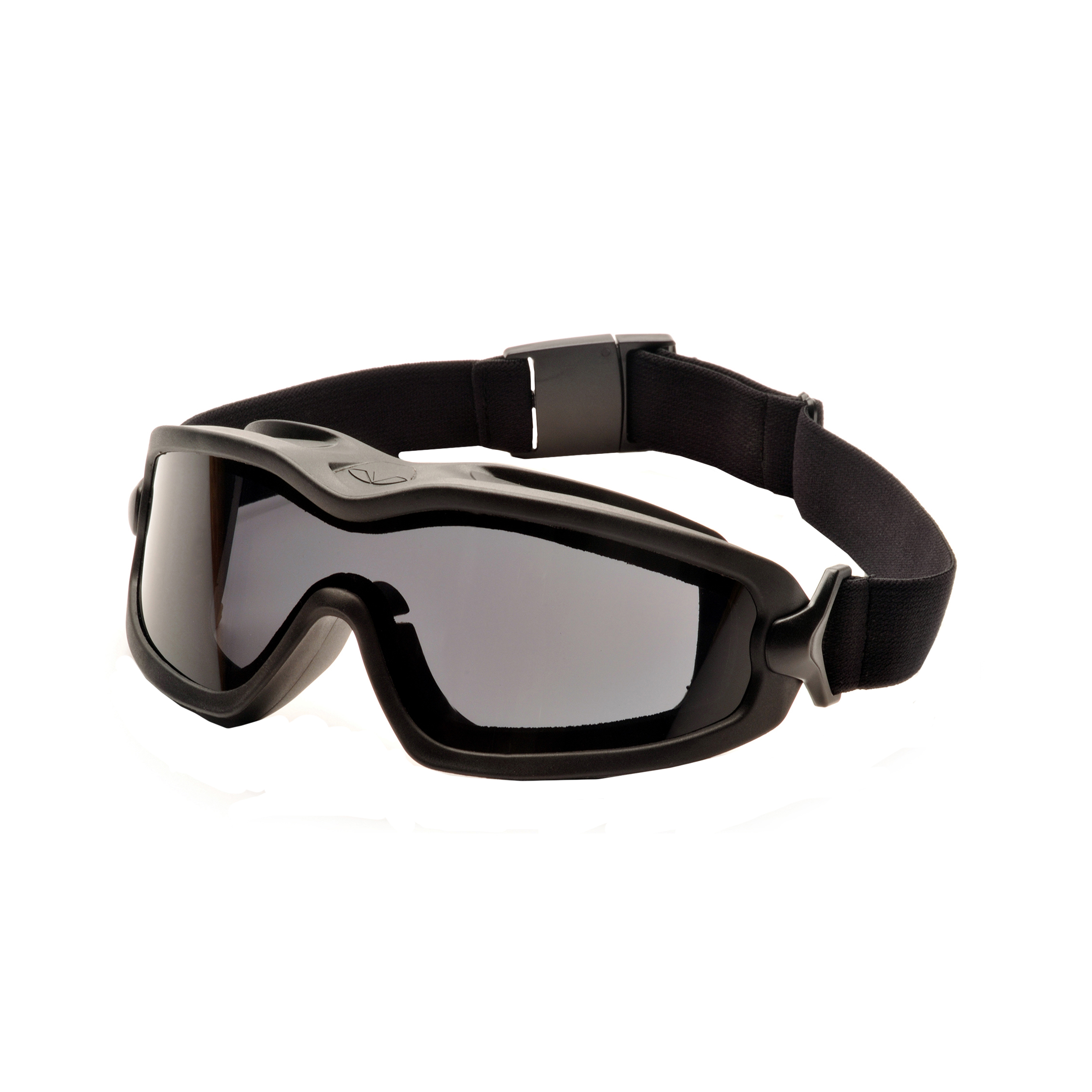 Pyramex Safety Products V2G Plus Safety Glasses Gray Anti-Fog Dual Lens with Black Strap by Pyramex Safety Products