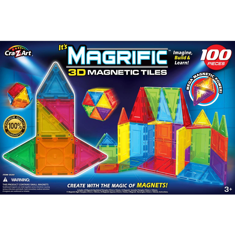 Cra-Z-Art Magrific 100-Piece Magnetic Set