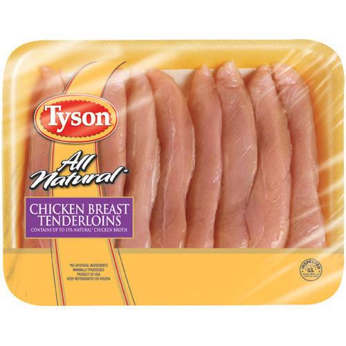 Tyson Fresh Chicken Breast Tenderloins, 1.25-1.5 lbs.