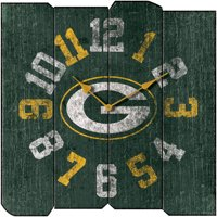 Packers Vintage Square Clock