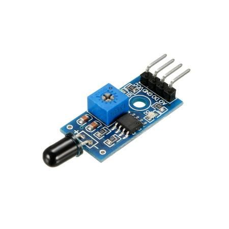 IR Flame Sensor Module Detector 4P Temperature Detecting for (Best Temperature Sensor For Arduino)