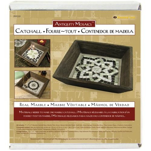 Diamond Tech Crafts Antiquity Mosaics Catchall Kit Multi-Colored