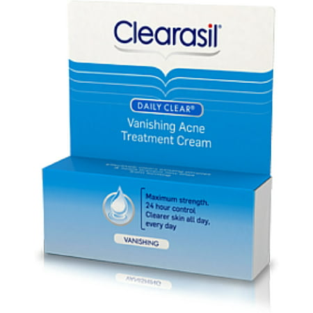 Clearasil Stayclear Vanishing Acne Treatment Cream 1 oz (Pack of
