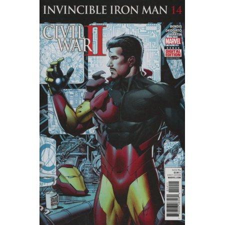 Marvel Invincibles Iron Man Vol. 2 #14 Civil War II