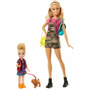 Barbie Camping Fun Doll & Chelsea Sister with Accessories