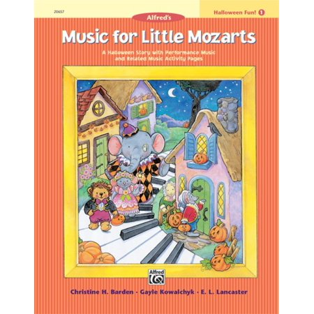 Music for Little Mozarts Halloween Fun! 1 - Halloween Activity Page