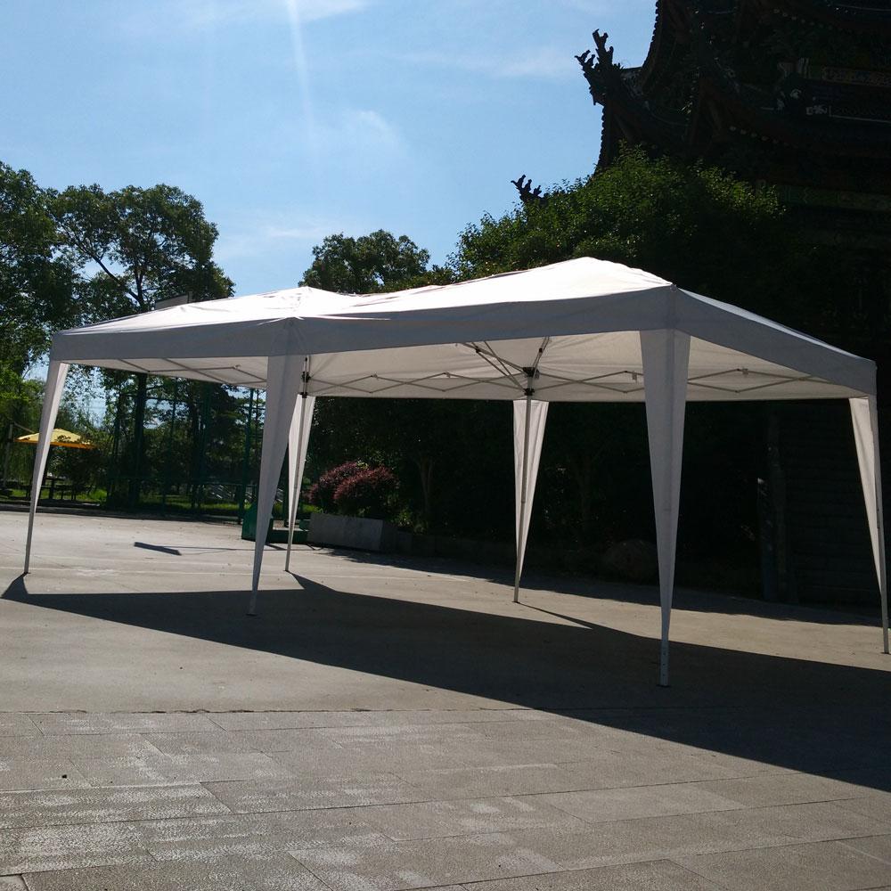 Ktaxon 10'X 20' Easy POP UP Wedding Party Tent Foldable Gazebo Beach Canopy W  Bag by