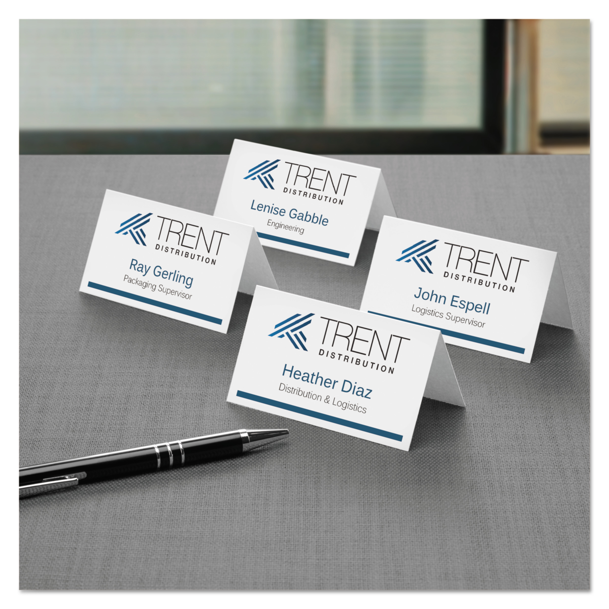 Avery Small Tent Card, White, 2 x 3 1/2, 4 Cards/Sheet, 160/Box ...