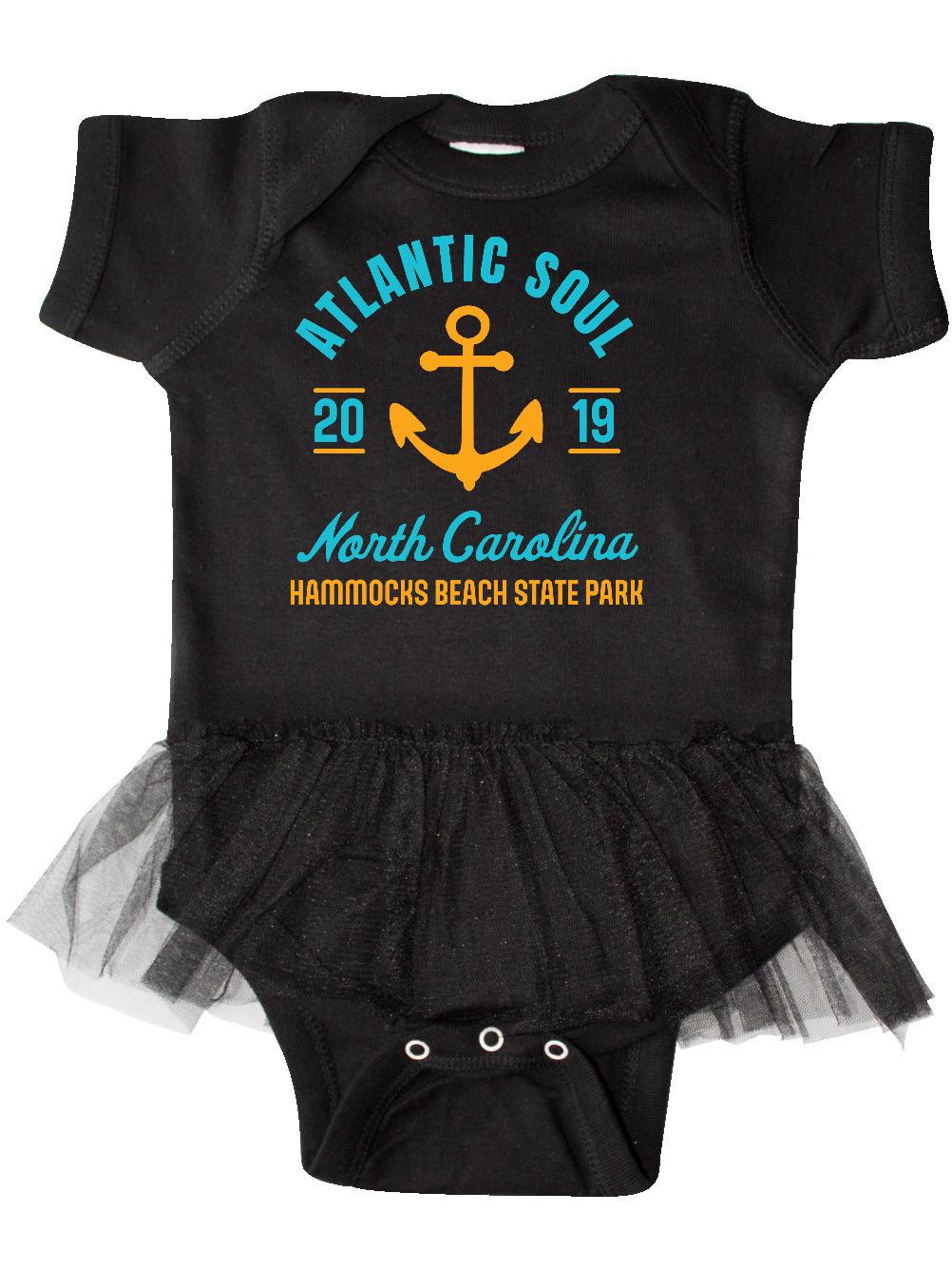 inktastic Atlantic Soul North Carolina Hammocks Beach State Infant Tutu Bodysuit