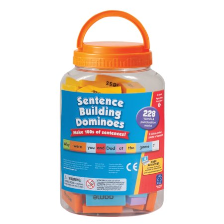 Educational Insights® Sentence-Building Dominoes, 228 Pieces