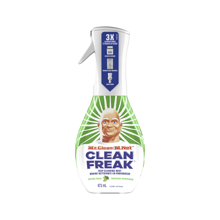 Mr. Clean, Clean Freak Deep Cleaning Mist Multi-Surface Spray, Spring Fresh Scent Starter Kit, 1 (Treadmill Cleaning Kit)