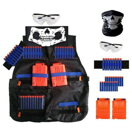 Tactical Vest Kit For Nerf Guns N Strike Elite Series Kids Toys Christmas - Toy Army Guns
