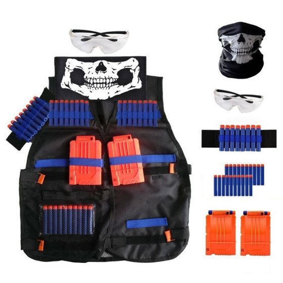 Gift Kit Tactical Guns Vest Nerf Strike Toys Elite N Kids For Christmas Series D9EW2HI