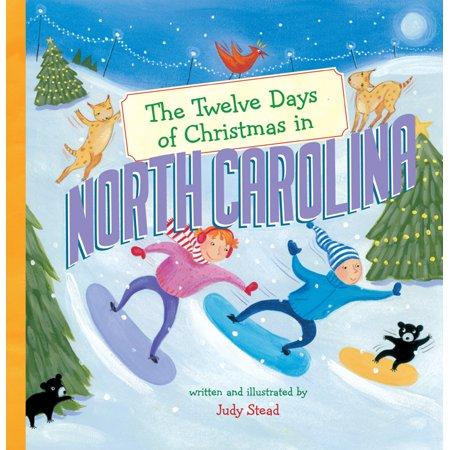 Twelve Days of Christmas in America: The Twelve Days of Christmas in North Carolina (Hardcover)](Halloween Activities North Carolina)