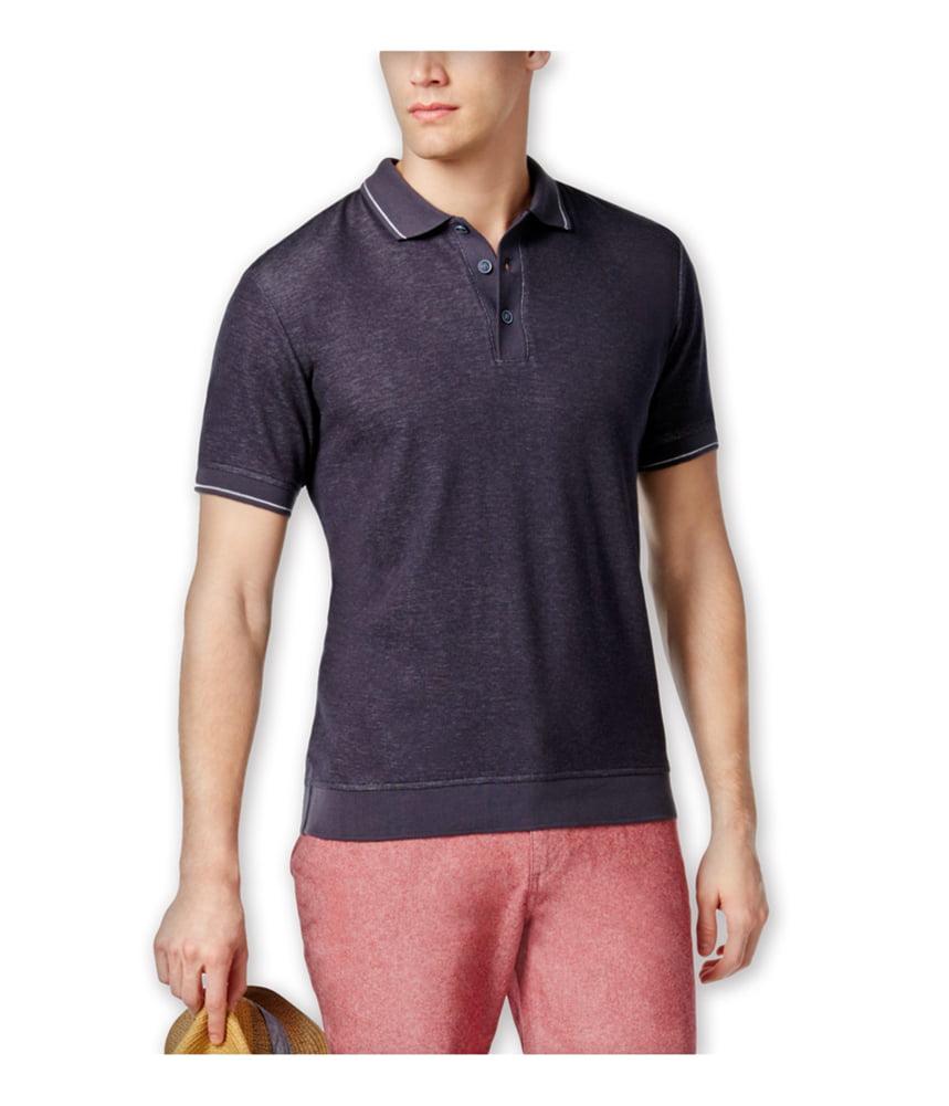 Ryan Seacrest Distinction Mens Rio Collection Campshirt Button Up Shirt